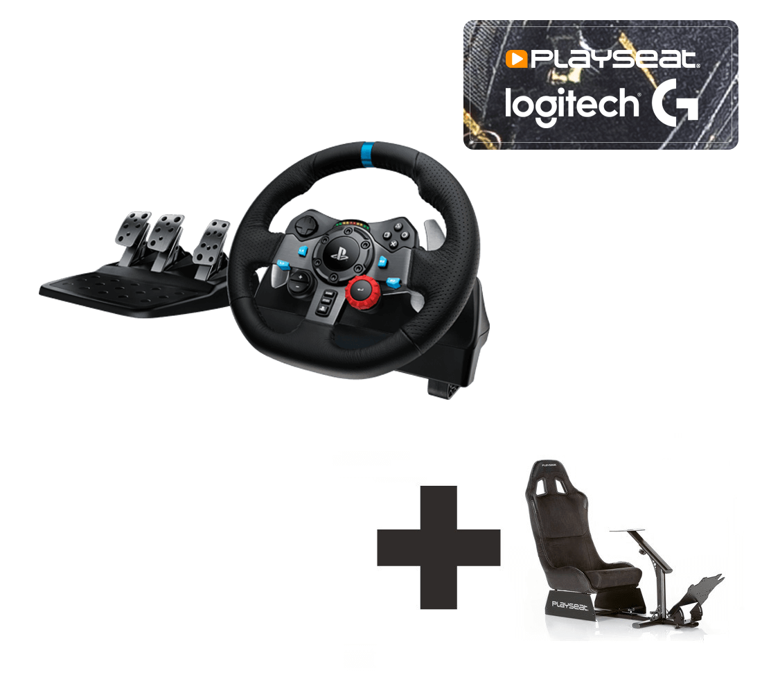 5cca5b641ea Logitech G29 for PS3 + PS4 + PC Ready to Race bundle - For all your racing  needs