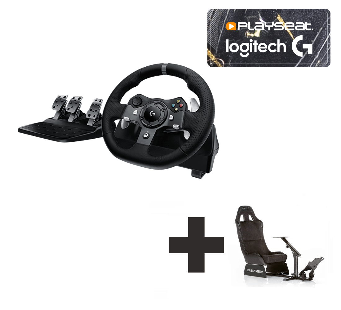 8949c1baa6b Logitech G920 for Xbox One + PC Ready to Race bundle - For all your racing  needs