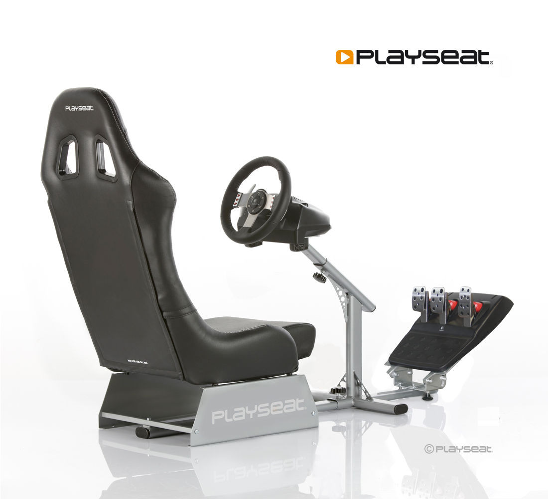 Playseat Evolution Black For All Your Racing Needs