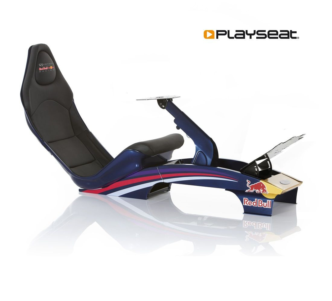 Red Bull Racing F1 on most comfortable gaming chair
