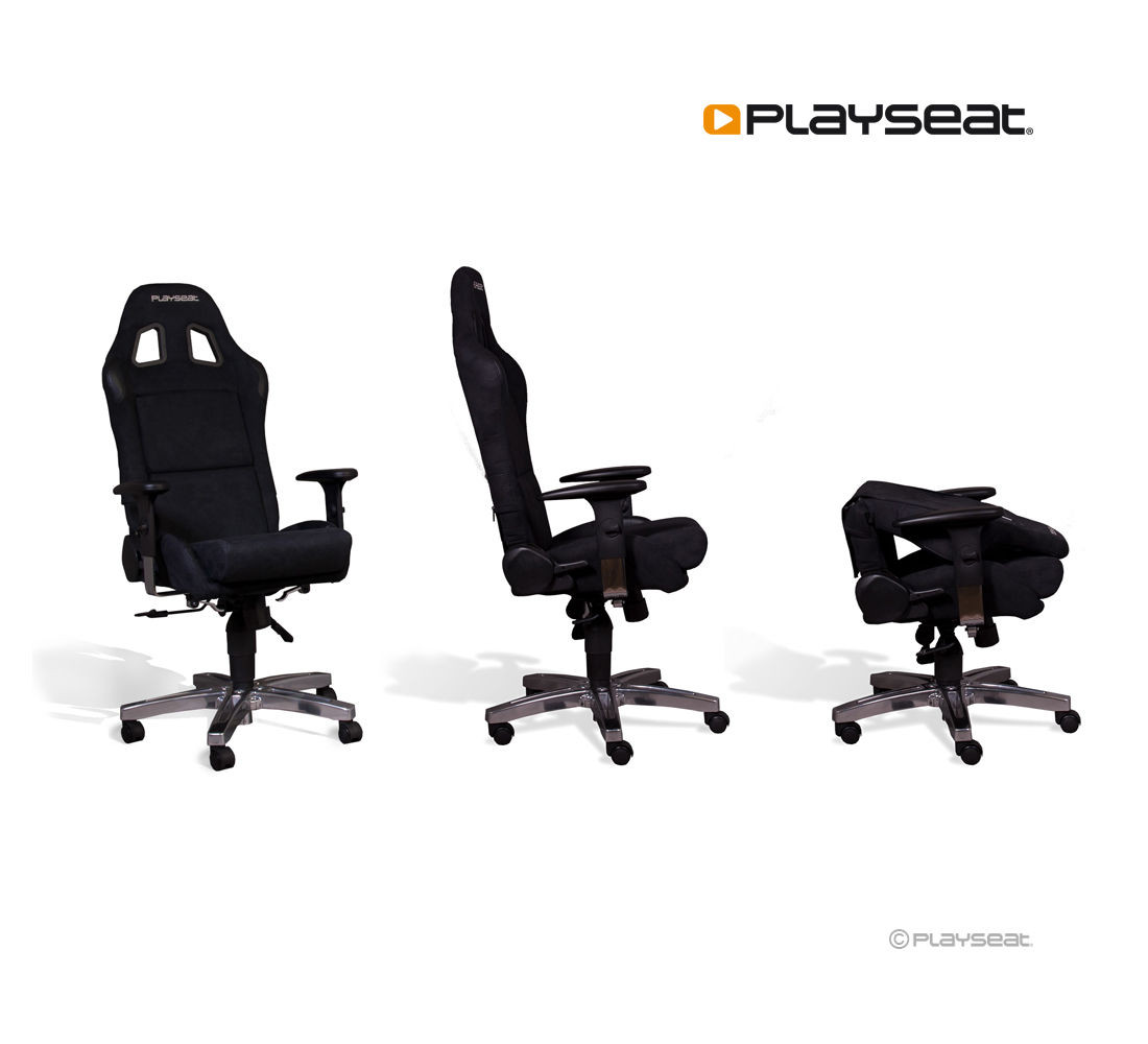 playseat® office chair - black - playseatstore - for all your