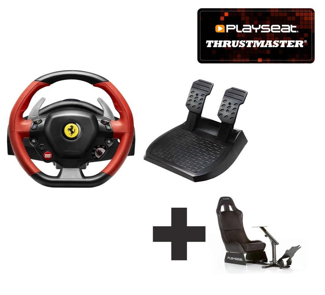 Thrustmaster 458 Spider For Xbox One Ready To Race Bundle For All Your Racing Needs