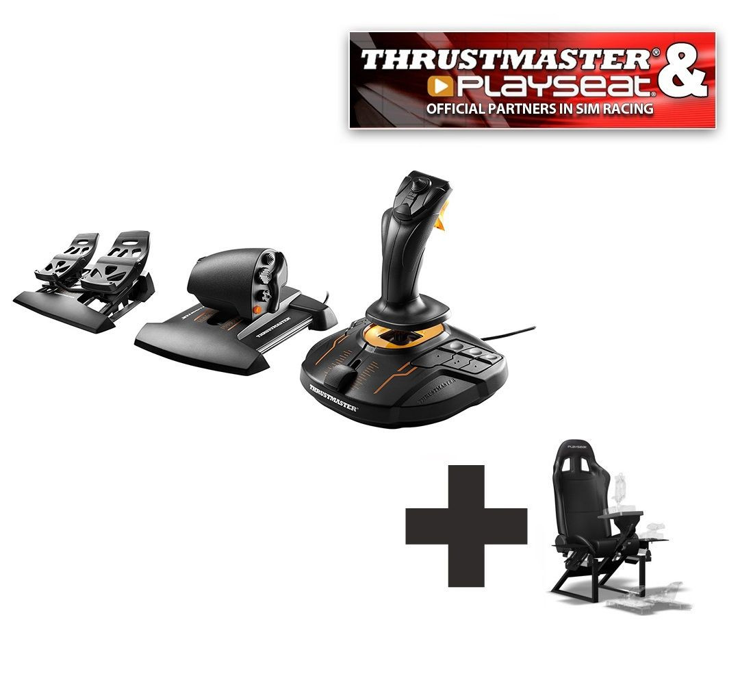 Thrustmaster T 16000M FCS Flight Pack Ready to Fly bundle