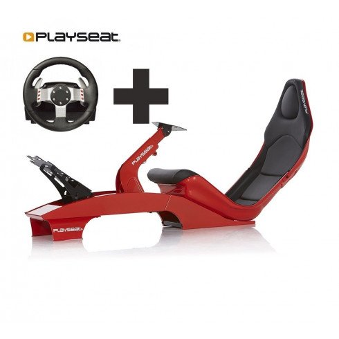 Playseat® F1 Red Ready to Race bundle
