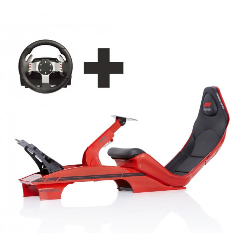 Playseat® Red F1 Ready to Race bundle