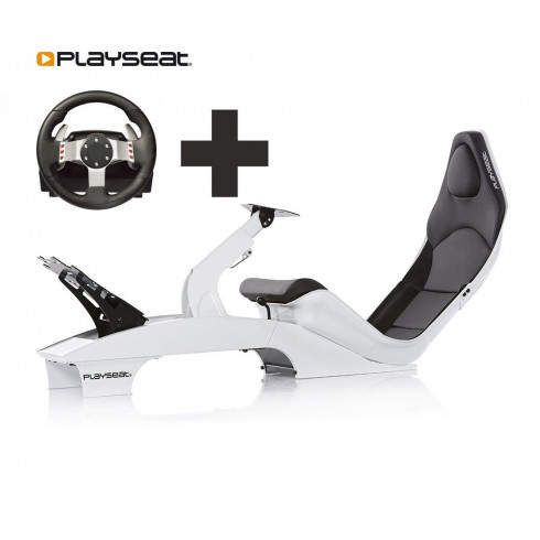 Playseat® F1 White Ready to Race bundle