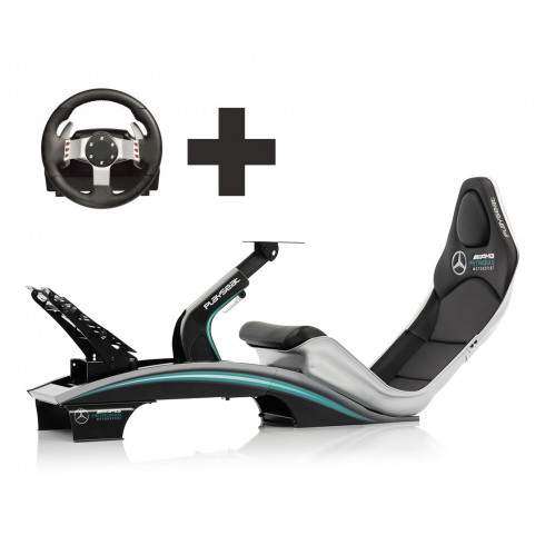 Playseat® PRO F1 - Mercedes AMG Petronas Motorsport Ready to Race bundle - Thrustmaster TS-PC Racer + T3PA pedals