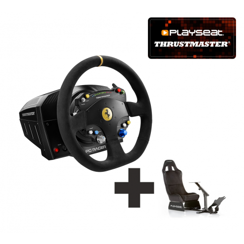 Thrustmaster TS-PC Racer Ferrari 488 Challenge Edition for PC Ready to Race bundle