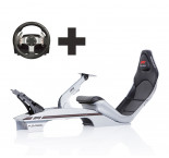 Playseat® F1 Silver Ready to Race bundle
