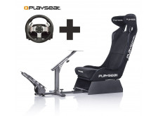 Playseat® Evolution Alcantara PRO Ready to Race bundle