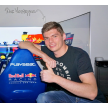 Max Verstappen with his Playseat® F1 Red Bull Racing