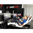 Racing with Playseat® F1 White in the F1 Gamezone