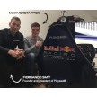 Max Verstappen with Playseat® founder Fernando Smit