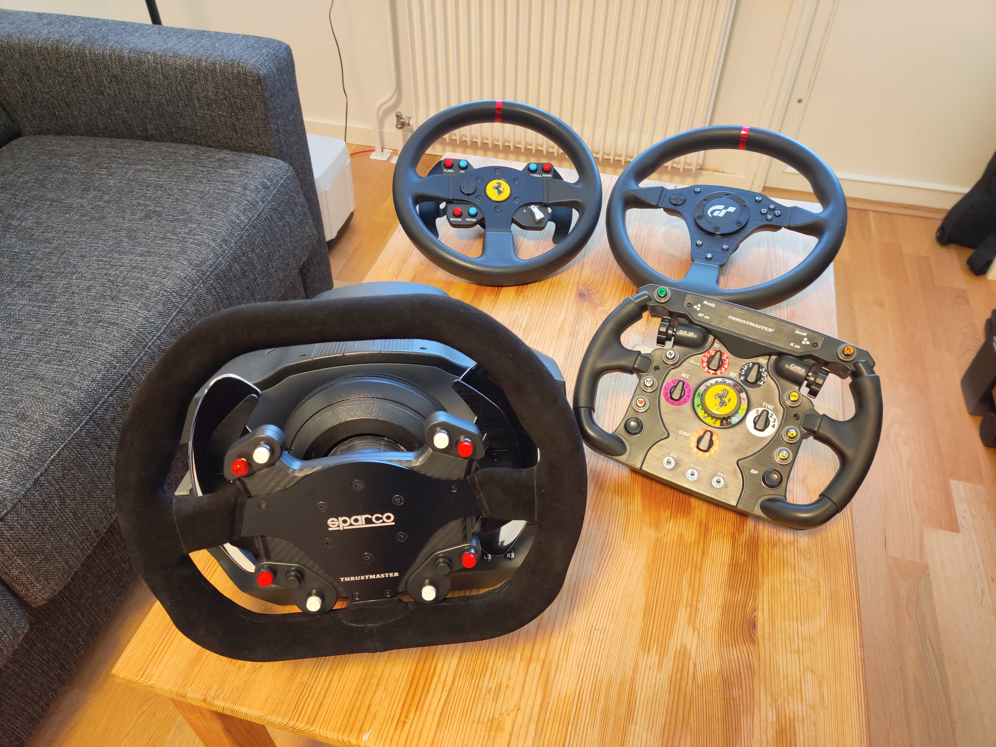 Best add-on for a Thrustmaster wheelbase