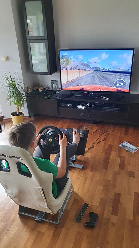 Perfect choice for home sim racings