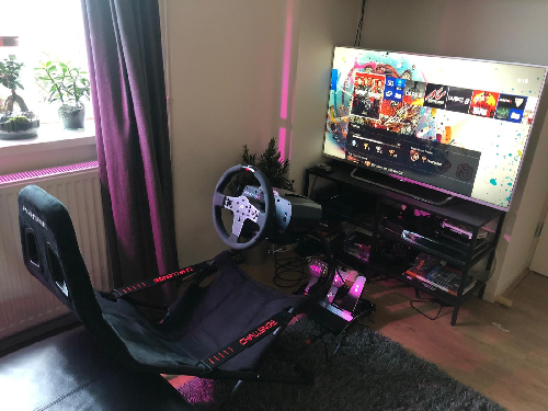 sim race enhancing chair