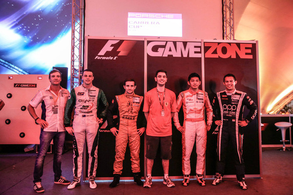 The F1 Gamezone winners in Singapore