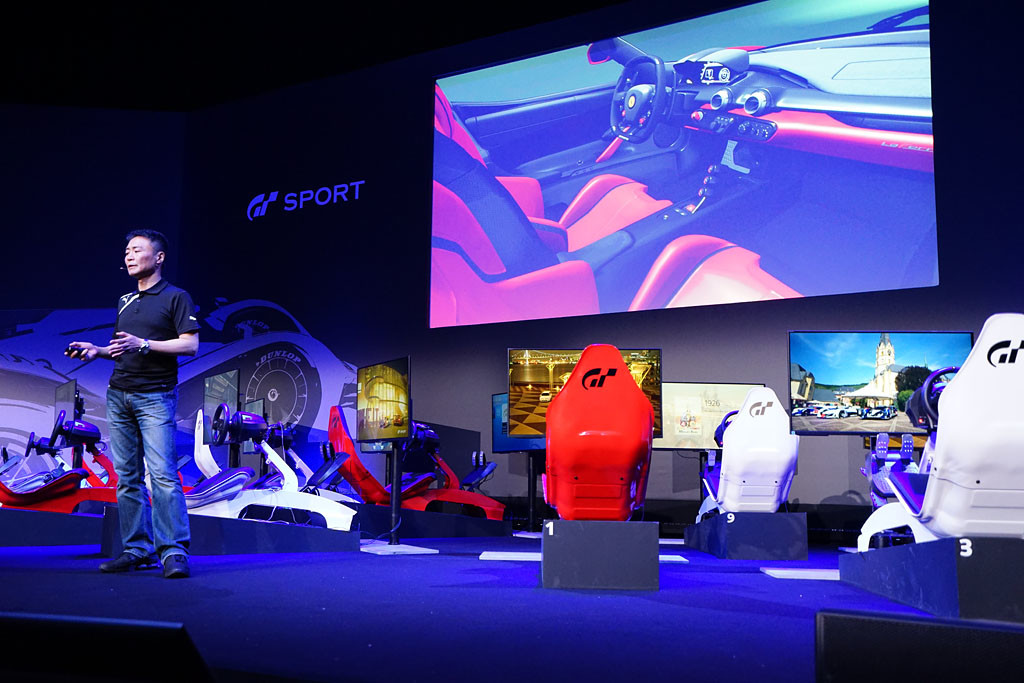 Playseat® at Gran Turismo Sport presentation
