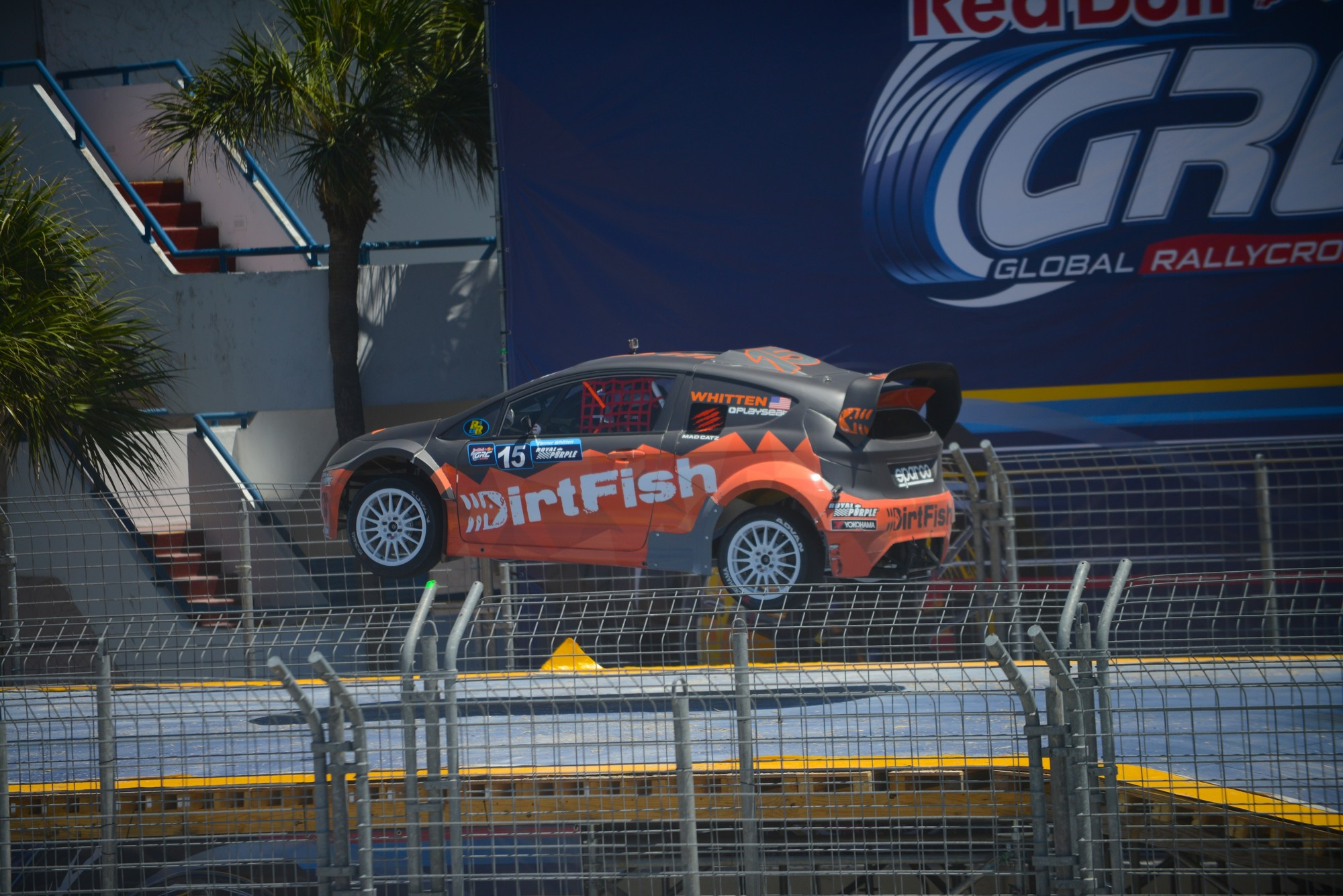 DirtFish taking a jump