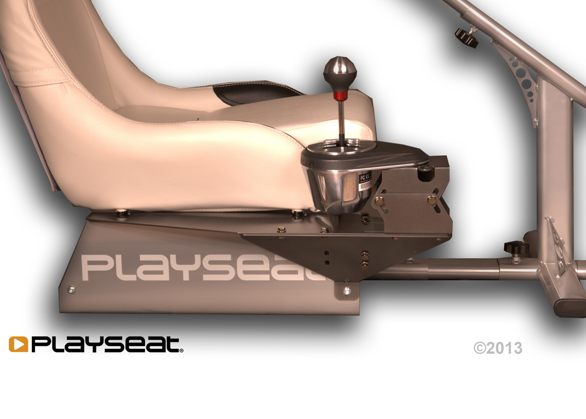 Playseat® GearShiftHolder PRO with the Thrustmaster TH8 RS