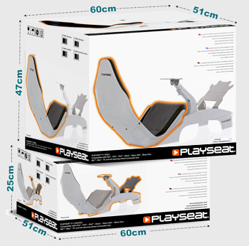 Playseat® F1 Silver box