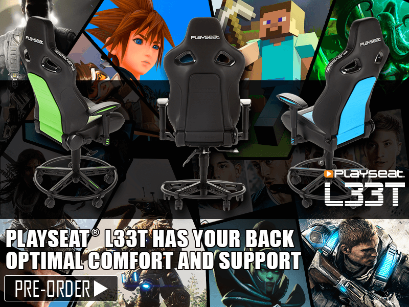Playseat® L33T gaming chairs