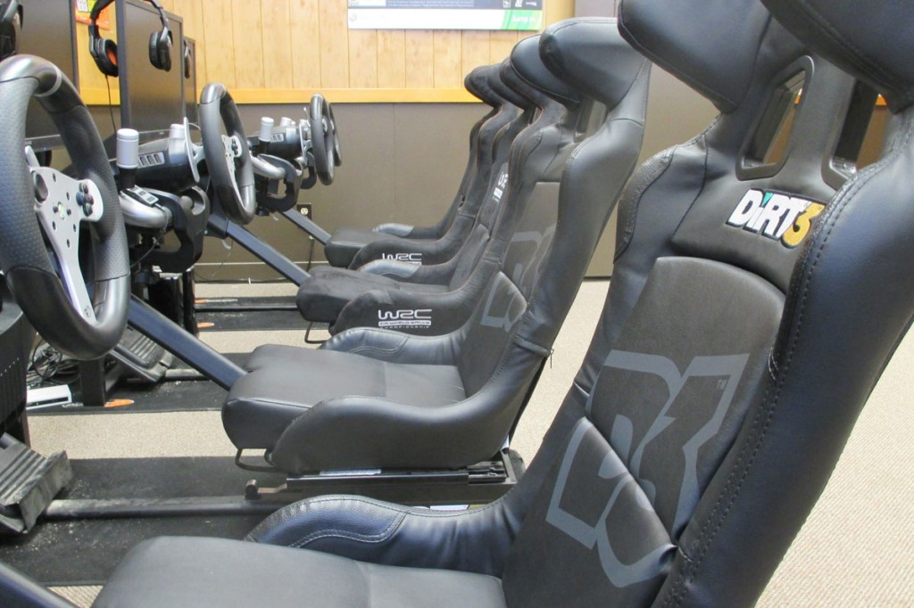 Simulation room with Playseat® simulators