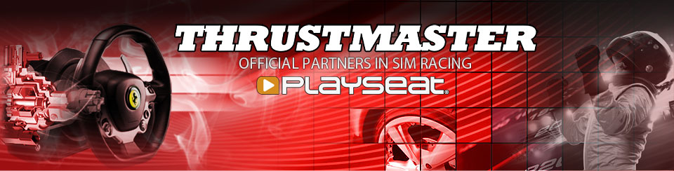 Thrustmaster official Playseat® partner