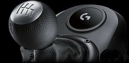 Six-speed shifter Logitech G29