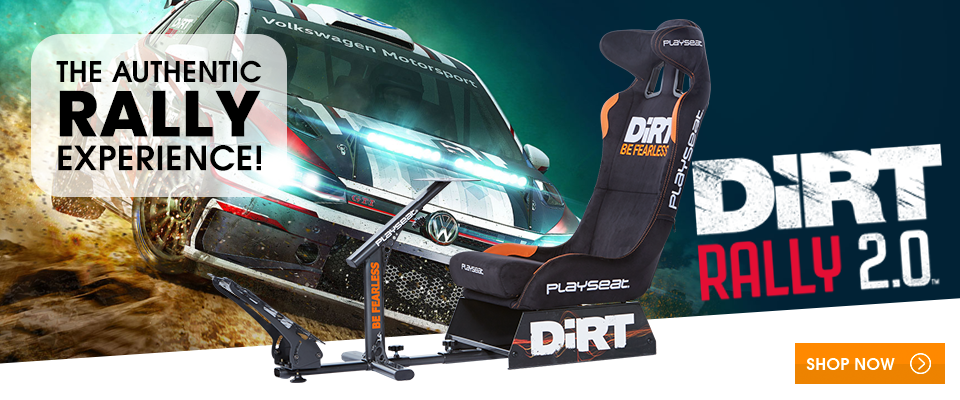 The authentic rally experience with Playseat® DiRT!