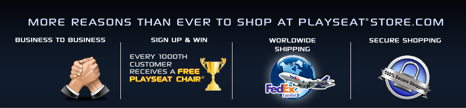 More reasons than ever to shop at playseatstore.com