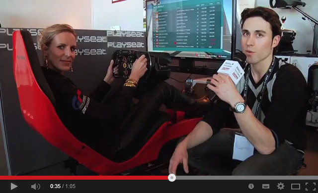 Playseat® at the Distree EMEA